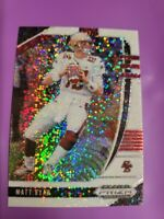 2020 Panini Prizm Draft Picks White Sparkle Matt Ryan Falcons SSP RARE