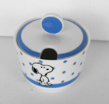 SPECIAL PRICE SNOOPY PEANUTS * Best of Snoopy * Ceramic Sugar Bowl MINT in box