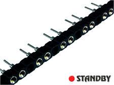 10pcs Precision socket single row  60/40pin pitch=2,54mm, SBU-060Z-030-782-VLI
