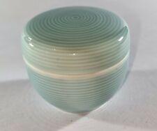 More details for pretty little vintage noritake trinket pill pot ceramic / porcelain box (japan)