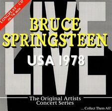 - Bruce Springsteen-USA 1978 CD (Live at Capitol Theatre 19.09.1978) RARE & programmazione a oggetti