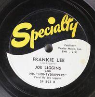 Hear! R&B 78 Joe Liggins - Frankie Lee / I Just Can'T Help Myself On Specialty