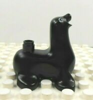 Lego Duplo Figure Seal Black