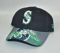 Seattle Mariners New Era 9FORTY YOUTH Reflective Brim Snapback Cap Hat