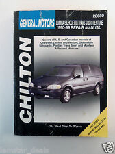 GM Lumina APV, Silhouette, Trans Sport, and Venture, 1990-99 by Chilton...