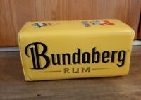 Bundaberg Rum Newcastle Knights NRL Goal Post Cooler Holder Rare Memorabilia