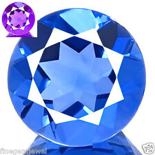 4.71ct WOW FLAWLESS NATURAL COLOR CHANGE FLUORITE BEST BLUE TO PURPLE RED FLASH
