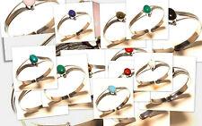 Silver Overlay Free Postage Cuff Coral Mix Gemstone Jewelry 15Pcs