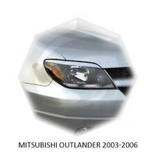 Eyebrows Eyelids Headlight Cover Mitsubishi Outlander 2003 2004 2005 2006 MY