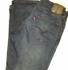 Levis Strauss Woman's #541 Denim Blue Jeans Size 31/32 Cotton Blend Strait Leg