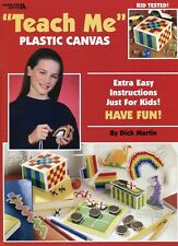 Teach Me Plastic Canvas ~ How-To's & Projects plastic canvas pattern booklet