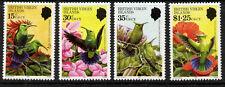 Virgin Islands 422-5 MNH Humming Birds, Flowers