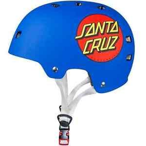 Bullet x Santa Cruz Classic Dot Helmet - Matte Blue