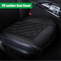 Full Surround Black Seat Cover Mat PU Leather Interior Accessories Car Cushion