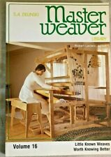 MASTER WEAVER LIBRARY, VOLUME16, BY S. A. ZIELNSKI,1983.LITTLE KNOWN WEAVES