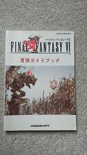 Final Fantasy VI Strategy Guide - Nintendo Super Famicom/SNES - Japanese