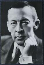 1973 Sergei Rachmaninoff 1906 RUSSIA COMPOSER MUSIC PIANO vintage Photo Postcard