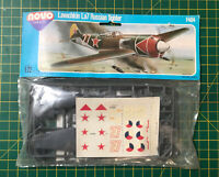 Vintage NOVO plastic kit Lavochkin La7 Russian Fighter 1/72 Bag
