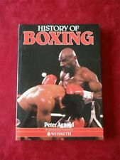 History of Boxing by Peter Arnold dated 1985