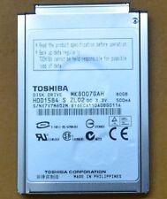 80GB MK8007GAH For Sony DV DCR-SR80 Dell Latitude x1 x1L NEC VersaS80 Hard Drive