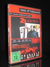DVD 21 & REDBELT - BLACKJACK-THRILLER KEVIN SPACEY + MARTIAL-ARTS JOE MANTEGNA *