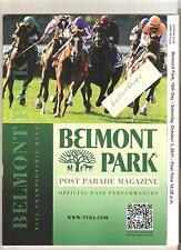 HALL OF FAME ROYAL DELTA IN MINT 2011 BELMONT PARK PROGRAM + BC CLASSIC WINNER