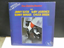 JIMMY SLIDE / BABY LAURENCE / BUNNY BRIGGS / CHUCK GREEN Four dancing masters