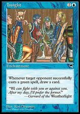 Insight   EX PLAYED   Tempest MTG Magic Cards Blue