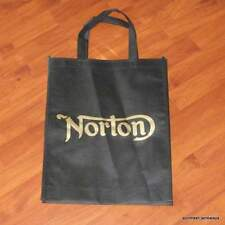 Norton Tote Shopping Parts Bag commando atlas 650 750 850 black/gold P11 Manx