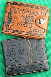 Geniune Printed Wallets, Designers Men's Wallets, USA and Eiffel Tower Wallets!