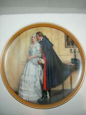 "Norman Rockwell ""The Unexpected Proposal"" plate 1986 - Edwin Knowles Collection"
