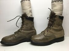 VTG MENS RED WING GORETEX WORK BROWN BOOTS SIZE 11 D