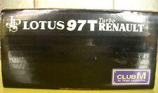 CLUB M 1/20 LOTUS 97T TURBO RENAULT model kit