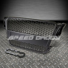 AUDI A5 TYP 8T RS BLACK ABS FRONT BUMPER FRAME GRILL/GRILLE COVER REPLACEMENT