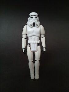 Tri-logo/ Euro Stormtrooper Hard Torso Vintage Star Wars Figure!
