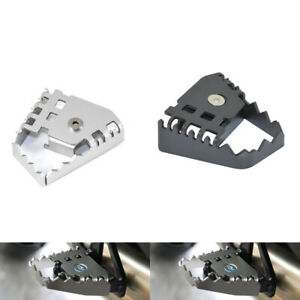 Rear Foot Brake Lever Peg Pad Extension Extender For BMW F650GS F800GS R1250GS