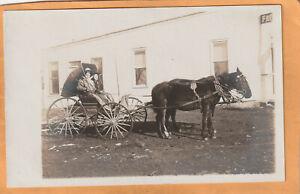 Taylor NM 1908 Real Photo Postcard
