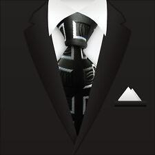 BLK New Classic Striped WOVEN JACQUARD Silk Men's Suits Tie Necktie M047