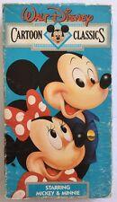 Walt Disney Cartoon Classics Volume 6 Starring Mickey & Minnie (VHS, 1991)