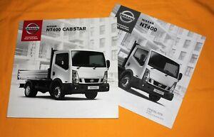 Nissan NT 400 Cabstar 2014 Prospekt Brochure Catalog Depliant Folder Prospetto