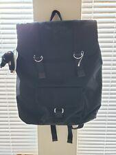 NWT Kipling Jinan Womens Laptop Sleeve Backpack  -Black