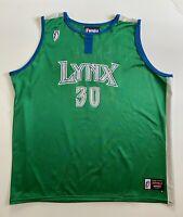Vintage Katie Smith #30 Minnesota Lynx WNBA Adult 2XL Basketball Jersey