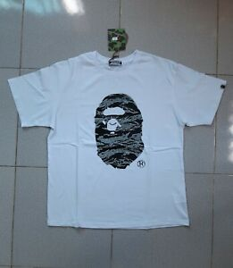 MCM BAPE A Bathing x Undefeated Apehead Tee White Black Size XL US Trend 2021
