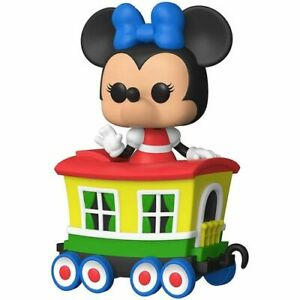 Highly Collectible Disneyland 65th Minnie Train Carriage US Pop! Vinyl Figure