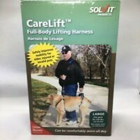 PetSafe Solvit Care Lift Lifting Aid Harness for Dogs - Full Front and Back - LG
