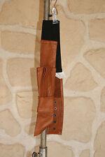 Ceinture marron neuve taille  S  marque senequanone