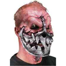 Lock Jaw Metal Muzzle Monster Dress Up Halloween Costume Makeup Latex Prosthetic