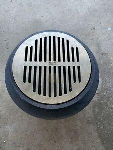 """ZURN 3"""" 36492-012 31421-015 Floor Drain With 50453-016 Grate Cast Iron 11 3/16"""""""