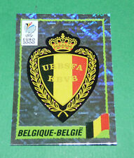 N°95 BADGE ECUSSON WAPPEN BELGIQUE BELGIË PANINI FOOTBALL UEFA EURO 2000