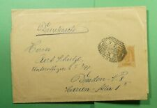 DR WHO 1905 AUSTRIA RUMBURG STATIONERY WRAPPER TO GERMANY  f52876